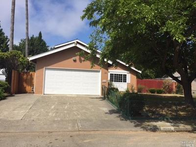 Vallejo Single Family Home For Sale: 1518 Elliot Drive