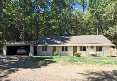 Redwood Valley CA Single Family Home Contingent-Show: $349,900