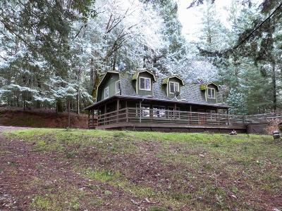 Willits Single Family Home For Sale: 3711 Ridgewood Road