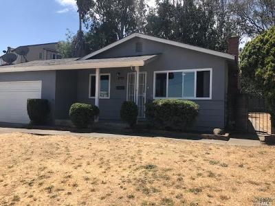 Vallejo Single Family Home For Sale: 1073 Grant Street