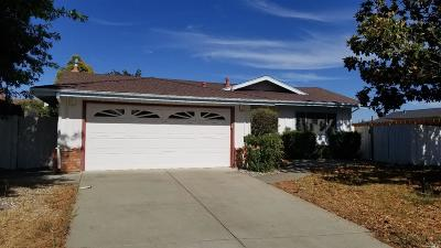 Fairfield Single Family Home For Sale: 2068 Winston Drive