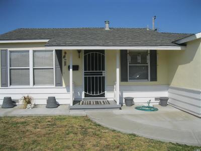 Vallejo Single Family Home For Sale: 140 Sawyer Street