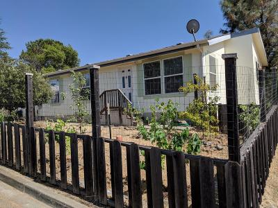 Napa Single Family Home For Sale: 209 Manzanita Lane