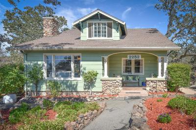 Napa Single Family Home For Sale: 2252 1st Avenue