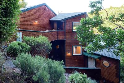 Mill Valley Single Family Home For Sale: 491 Green Glen Way