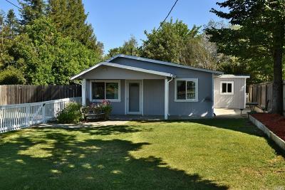 Windsor Single Family Home For Sale: 2681 Mark West Station Road