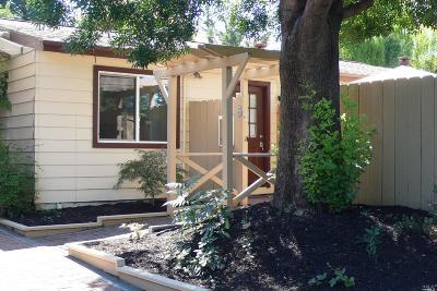 Napa Condo/Townhouse For Sale: 718 Pueblo Avenue #5