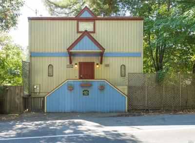 Guerneville Single Family Home For Sale: 14655 River Road