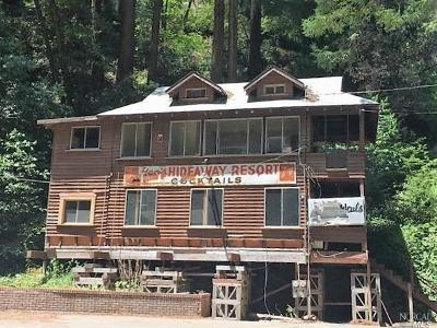 Guerneville Single Family Home For Sale: 18072 Hwy 116