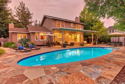 Yountville Single Family Home For Sale: 2000 Oak Circle