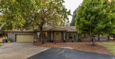 Fairfield Single Family Home Contingent-Show: 3436 Blue Canyon Court