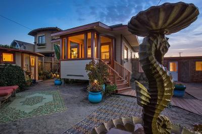 Stinson Beach Single Family Home For Sale: 12 Occidente