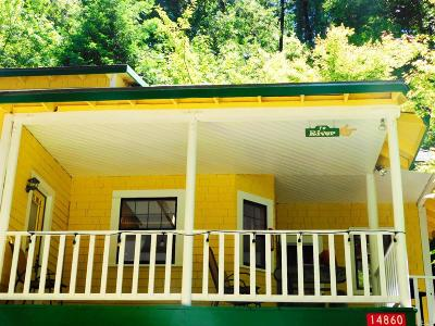 Guerneville CA Single Family Home For Sale: $419,000