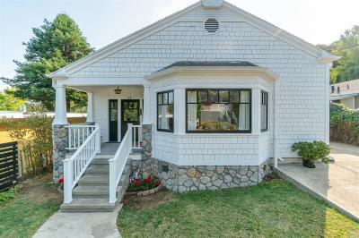 San Anselmo Single Family Home For Sale: 19 Durham Road