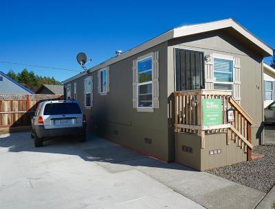Sonoma County Mobile Home For Sale: 10 Hillview Drive #10 Hillv