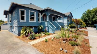 Petaluma Single Family Home For Sale: 421 Upham Street