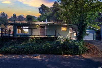 Kelseyville Single Family Home Contingent-Show: 3318 Konocti Lane