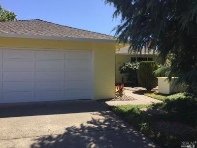 Sonoma County Rental For Rent: 6932 Fairfield Drive