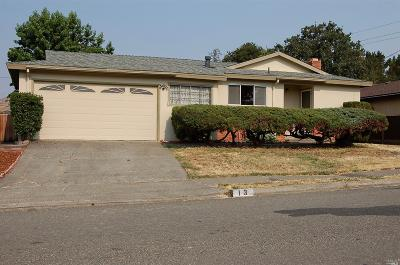 Novato Single Family Home For Sale: 13 Estates Drive