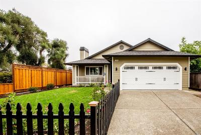 Santa Rosa CA Single Family Home For Sale: $619,000