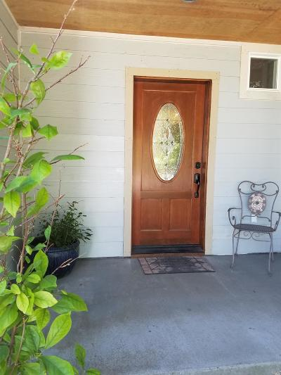 Willits CA Single Family Home Contingent-Show: $375,000