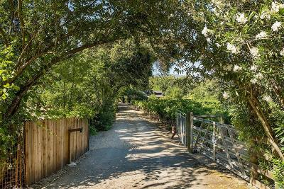 Calistoga Single Family Home For Sale