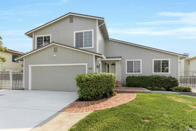 Vacaville Single Family Home For Sale: 142 Melrose Court