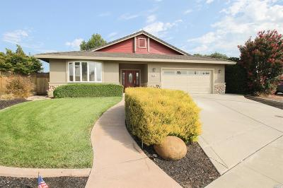 Vacaville Single Family Home For Sale: 784 Kingman Drive
