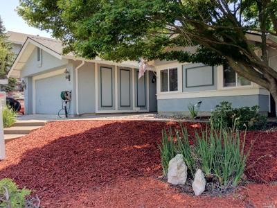 Benicia CA Single Family Home For Sale: $635,000
