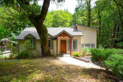 Kenwood Single Family Home For Sale: 1835 Adobe Canyon Road
