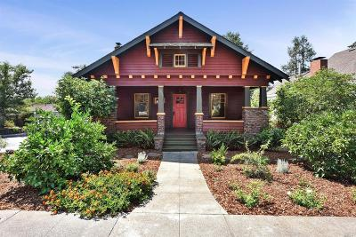 Healdsburg Single Family Home For Sale: 328 Grant Street