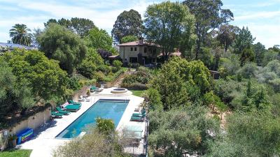 Marin County Single Family Home For Sale: 283 Summit Avenue