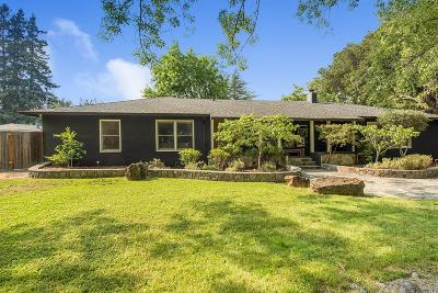 Napa CA Single Family Home For Sale: $1,295,000