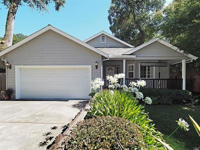 Sonoma Single Family Home For Sale: 300 Solano Avenue