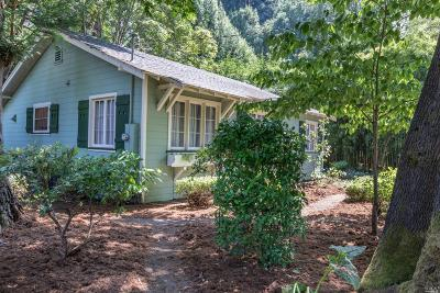 Guerneville CA Single Family Home For Sale: $629,500