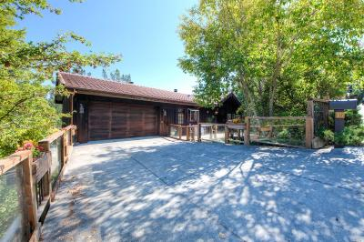 San Anselmo Single Family Home For Sale: 15 Oak Springs Drive