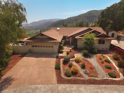 Ukiah Single Family Home For Sale: 475 Fircrest Drive