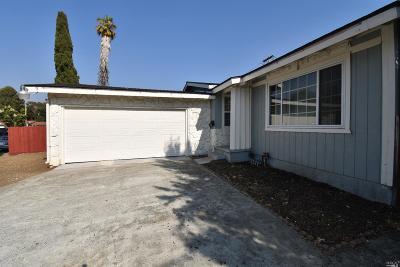Vallejo Single Family Home For Sale: 531 Taper Avenue