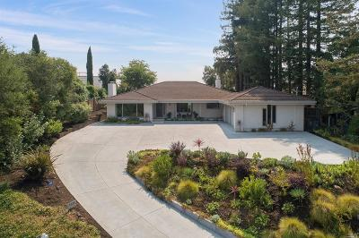 Sonoma County Single Family Home For Sale: 1224 North Fitch Mountain Road