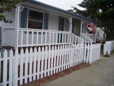 Fort Bragg Single Family Home For Sale: 125 East Bush Street