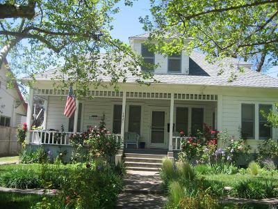 Calistoga Single Family Home For Sale: 1421 2nd Street
