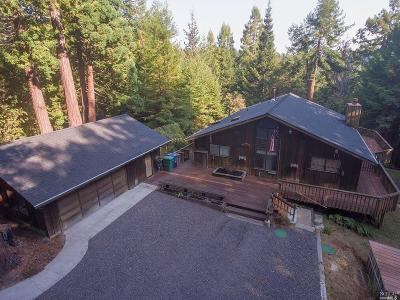 Fort Bragg Single Family Home For Sale
