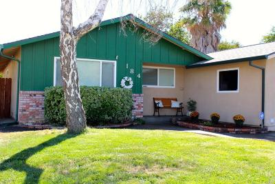 Vacaville Single Family Home Contingent-Show: 184 Albany Avenue