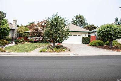 Healdsburg Single Family Home For Sale: 659 Piper Street