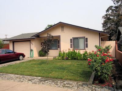 Ukiah CA Single Family Home For Sale: $415,000