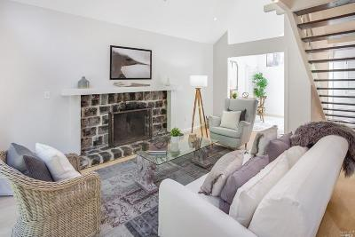 Mill Valley Condo/Townhouse For Sale: 514 Browning Street