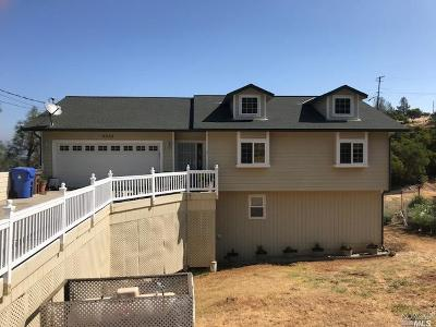 Kelseyville Single Family Home For Sale: 9852 Fairway Drive