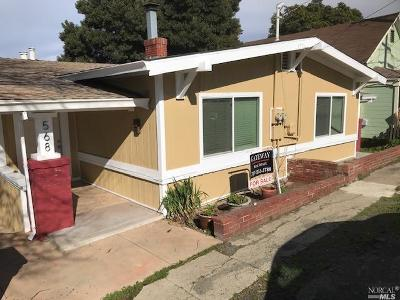 Contra Costa County Multi Family 2-4 For Sale: 564 Alhambra Street