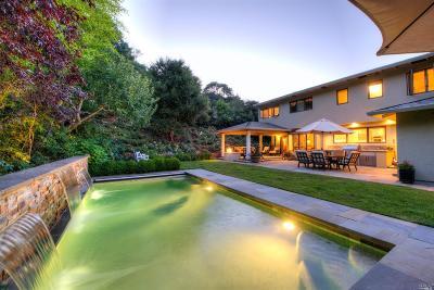 Novato Single Family Home For Sale: 10 Bonnie Brae Drive
