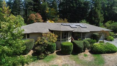 Sebastopol Single Family Home For Sale: 1891 Green Hill Road